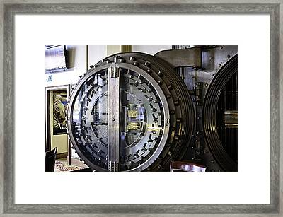 Vault Dining Framed Print by Image Takers Photography LLC - Laura Morgan
