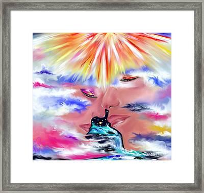 Eternal Love Framed Print by Lori  Lovetere