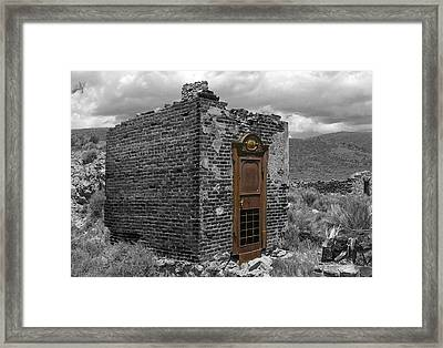 Vault Of Time Framed Print