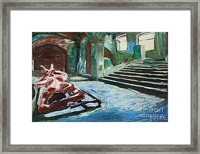Vault Sleeping 2578 Framed Print by Lars  Deike