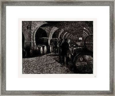 Vaults At The Docks, Isles Of Dogs, London Framed Print