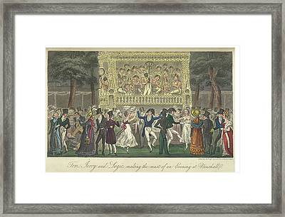 Vauxhall Gardens Framed Print by British Library
