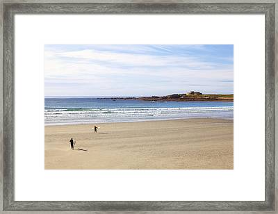 Vazon Bay - Guernsey Framed Print