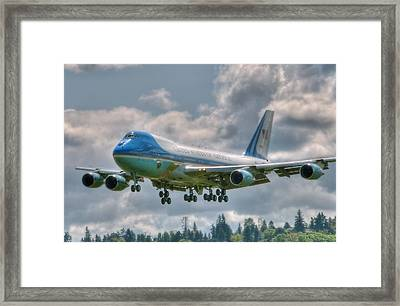 Vc25 - Air Force One  Framed Print