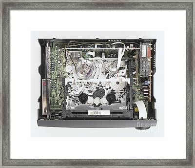 Vcr, Internal Workings Framed Print by Matthew Ward / Dorling Kindersley