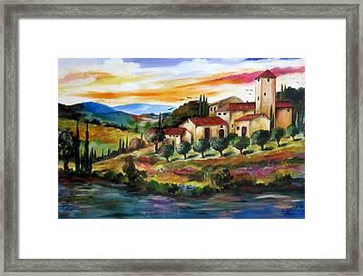 Vecchio Casale Framed Print