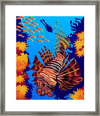 Vector  Art Framed Print