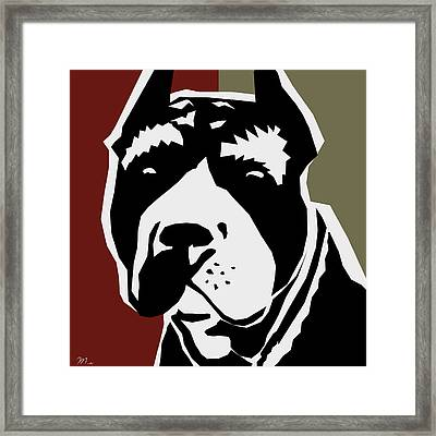 Vector Pit  Framed Print by Mark Ashkenazi
