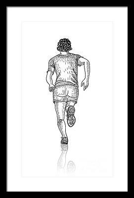 Exercise Framed Prints