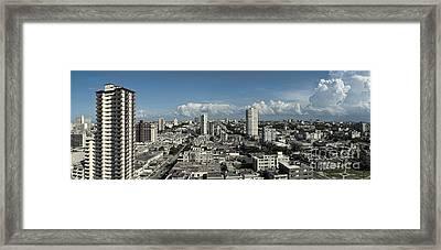 Vedado Havana Cuba Framed Print