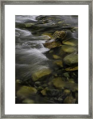 Vedder Waters Framed Print