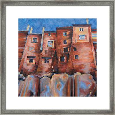 Vedette Facce Italy Framed Print