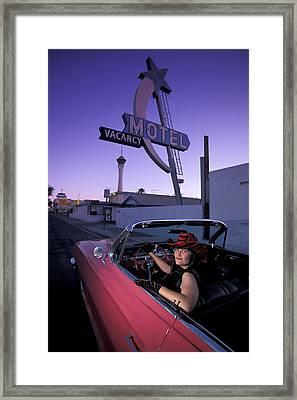 Vegas Framed Print by Christian Heeb