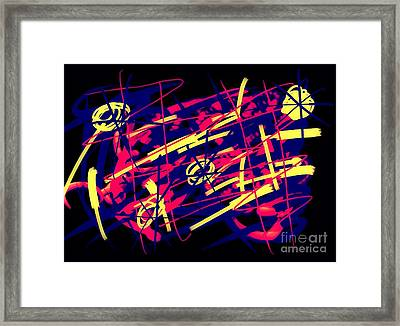Vegas Delight Framed Print