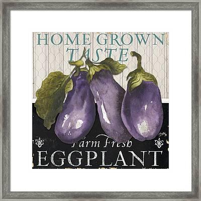 Vegetable Farm Fresh Iv Framed Print