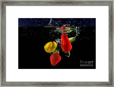 Vegetable Soup For The Soul Framed Print by Rene Triay Photography