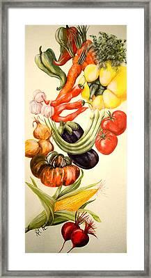 Vegetables No. 1 Framed Print