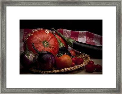 Vegetables Framed Print by Riccardo Livorni