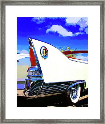 Vehicle Launch Palm Springs Framed Print by William Dey