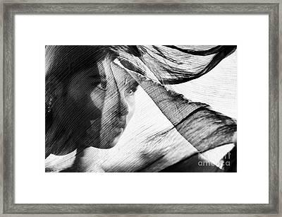 Veil And Shadow  Framed Print