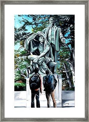 Veil Lifted Framed Print by Henry Blackmon