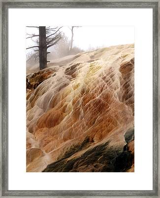 Veil Of Color Framed Print