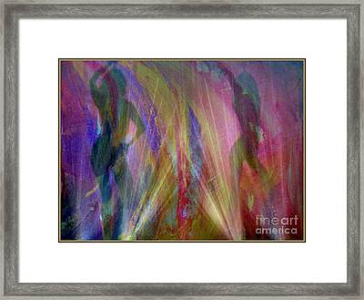 Veil Of Seduction Framed Print by Irma BACKELANT GALLERIES