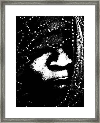 Framed Print featuring the photograph Veiled 71 by Cleaster Cotton