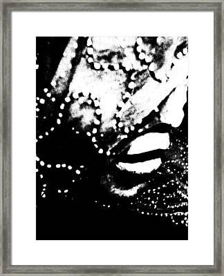 Framed Print featuring the photograph Veiled 713 by Cleaster Cotton