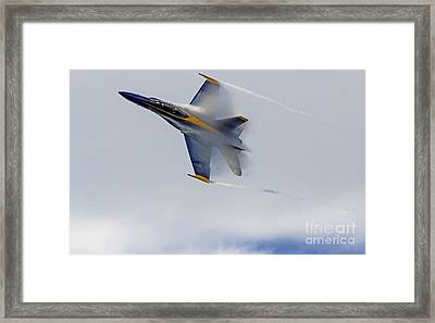 Veiled Angel Framed Print