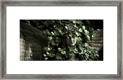 Veiled Angel Framed Print by Marc Huebner