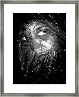 Veiled Female Framed Print