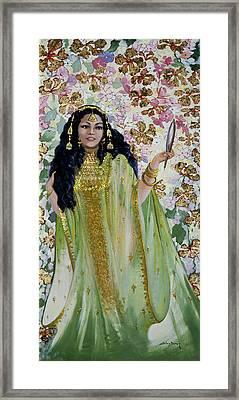 Veils 2 Framed Print by Silvia  Duran