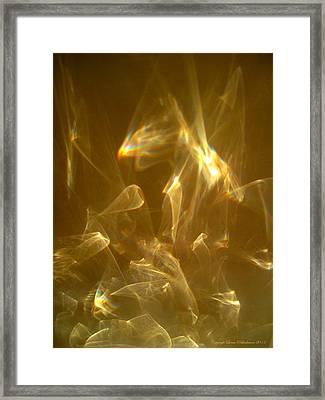 Framed Print featuring the photograph Veils Of Light by Leena Pekkalainen
