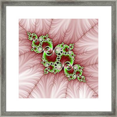 Vein Of Life Framed Print