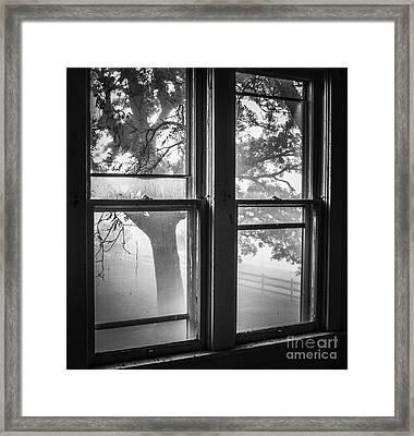 Veiw Of Yesterday Framed Print