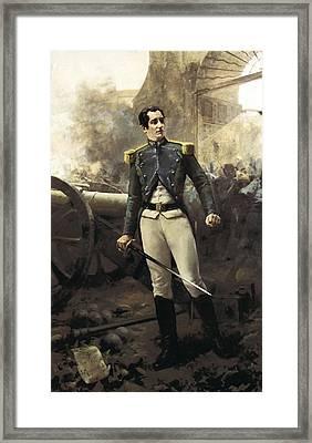 Velarde Y San Juanpedro 1779-1808 Framed Print
