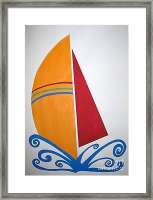 Velas Framed Print