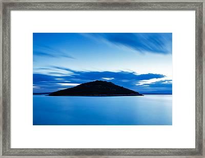 Veli Osir Island At Dawn Framed Print