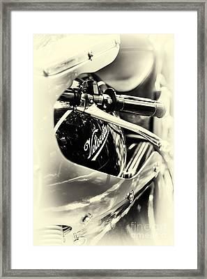 Velocette Cafe Racer Framed Print