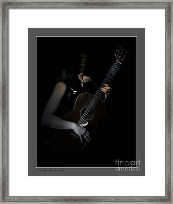 Velvet Chords Framed Print