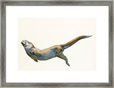Velvet Framed Print by Mark Adlington