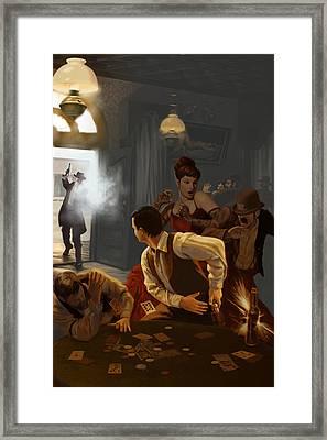 Vendetta Framed Print by Shanley McCauley