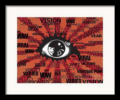 Social Movements Digital Art Framed Prints