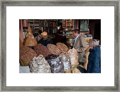 Vendor Framed Print by Daniel Kocian