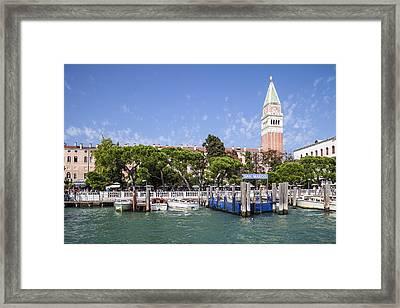 Venedig San Marco Framed Print by Melanie Viola