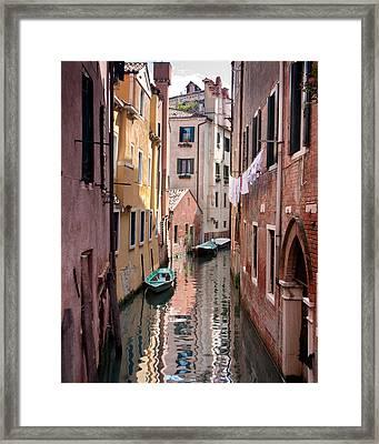 Venetian Alleyway Framed Print