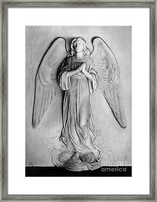 Venetian Angel Framed Print by Nicola Butt