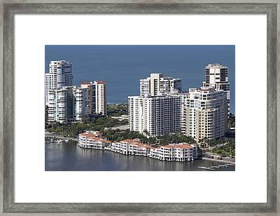 Venetian Bay Framed Print