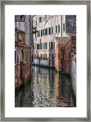 Venetian Building Framed Print